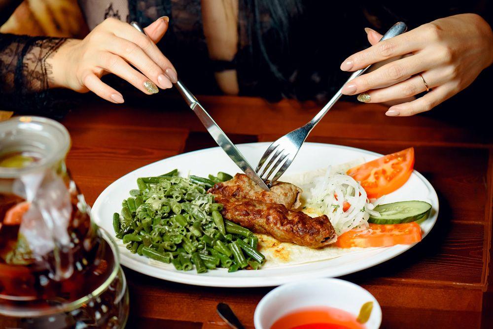 Люля-кебаб в узбекской кухне