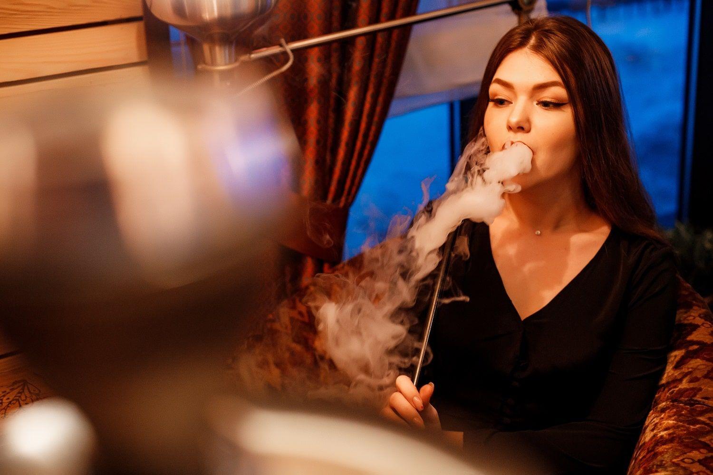 Покурить кальян в кафе