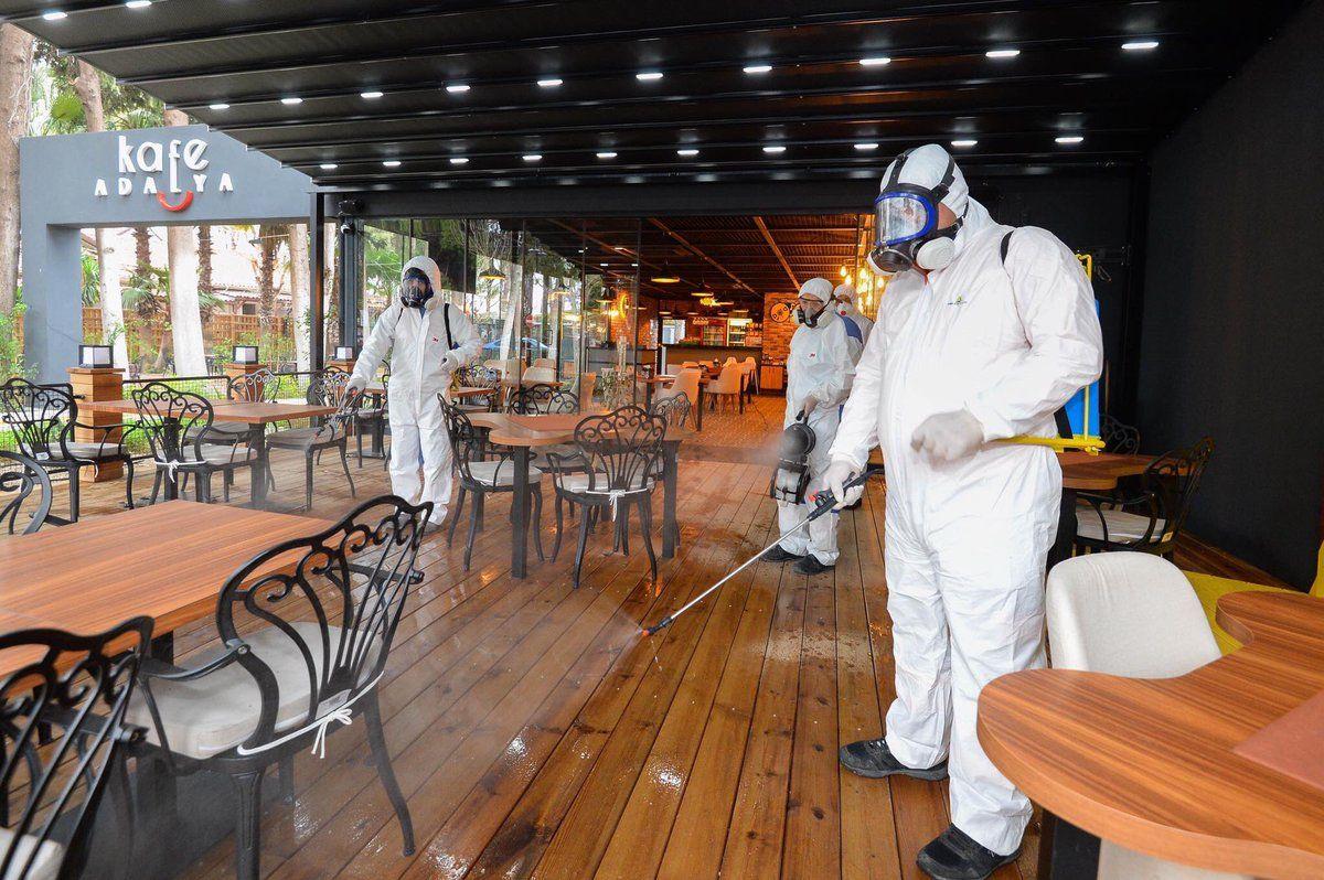Дезинфекции помещений ресторанов