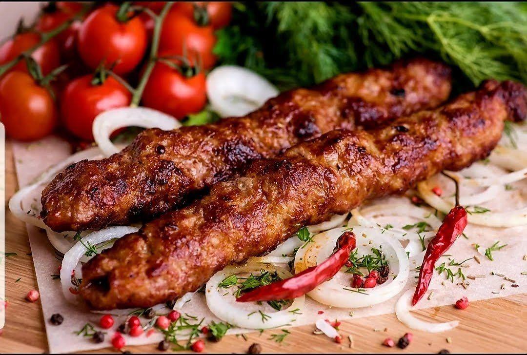 Узбекский шашлык из фарша