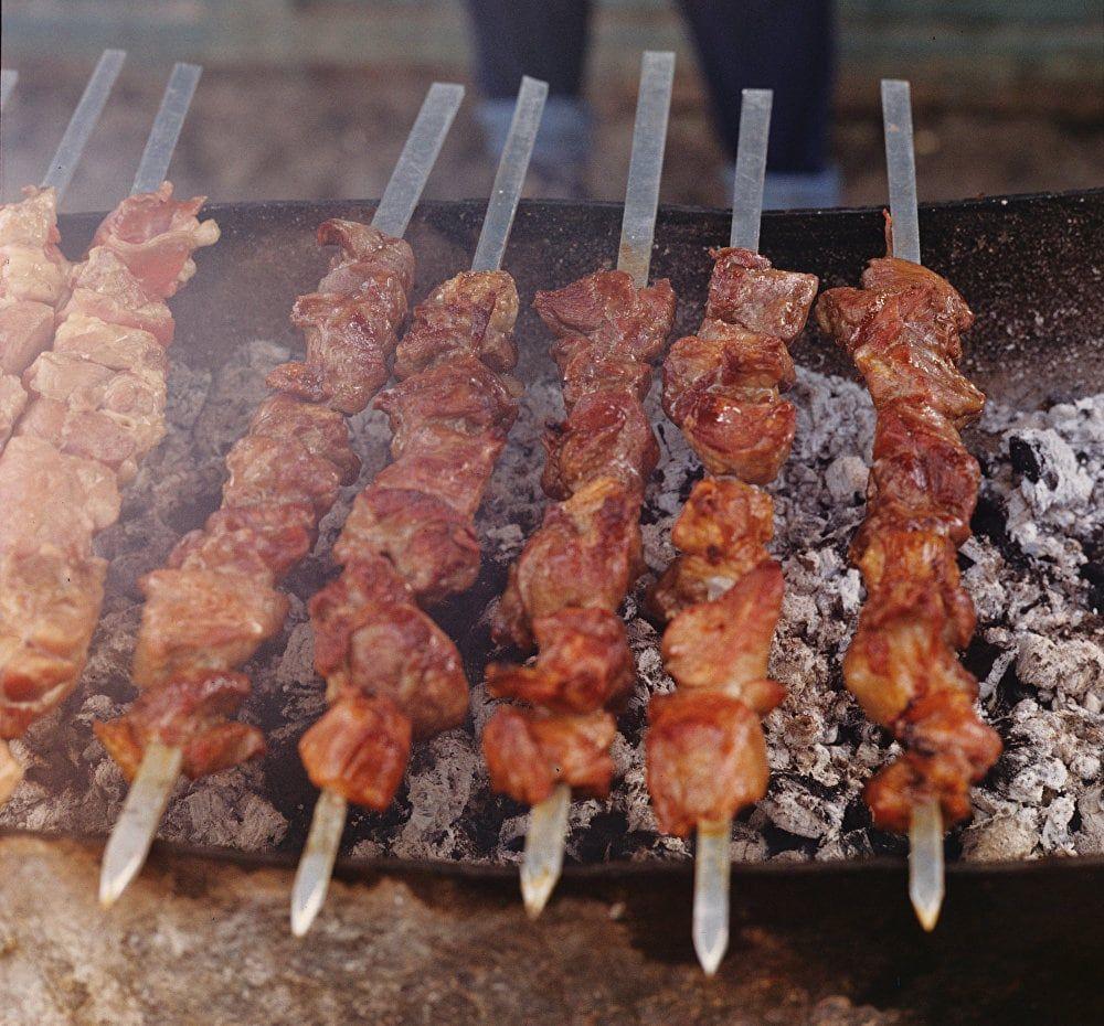 Рецепт узбекского шашлыка из баранины