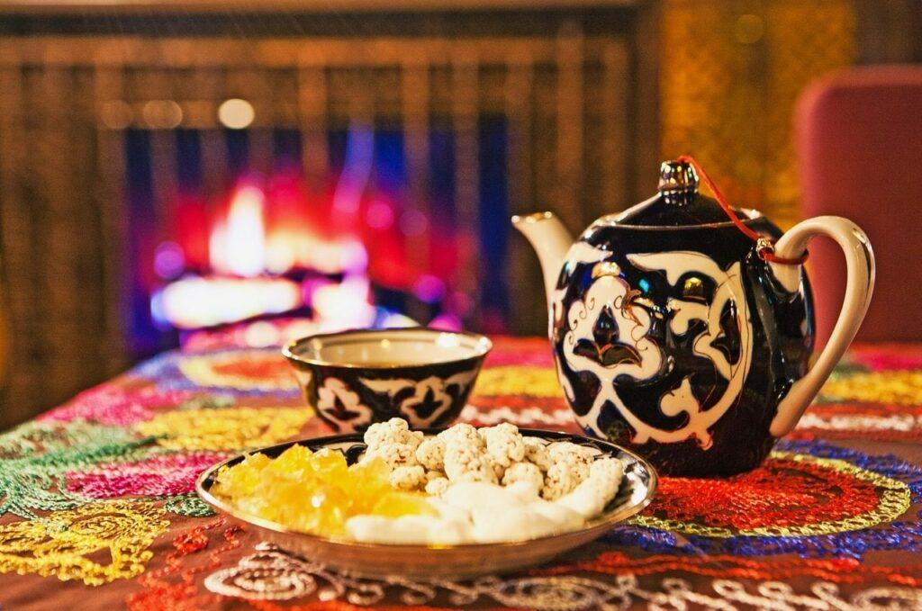Чаепитие в узбекских традициях
