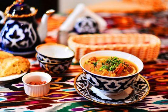 Восточная кухня города Тюмень