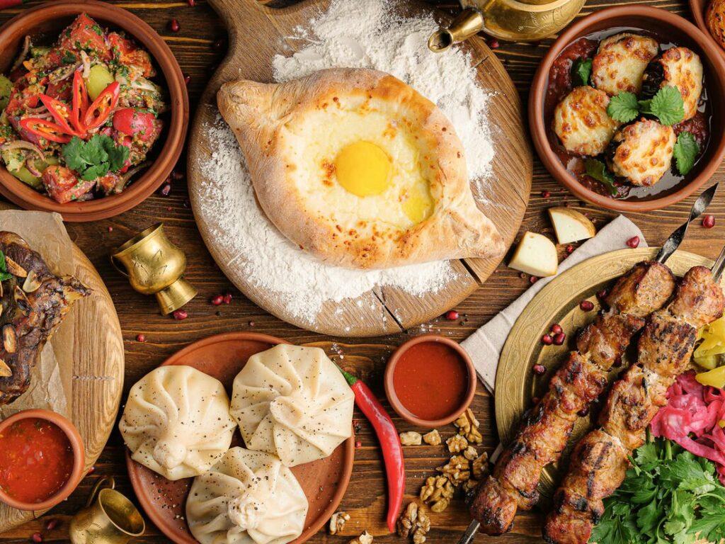 Грузинская национальная кухня