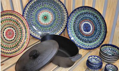 Посуда керамическая из Узбекистана